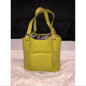 Ted Baker bright green purse